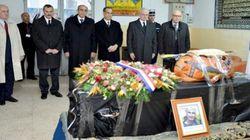 Hommage à Hervé Gourdel avant le transfert de son corps en