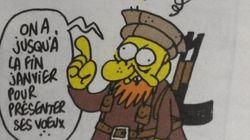 Charb, mort dans l'attaque de son journal, Charlie Hebdo, avait publié un dessin prémonitoire dans l'édition de la