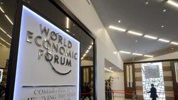 Ouverture du forum de Davos sous des cieux
