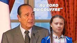 Jacques Chirac faisait du Greta Thunberg avant Greta