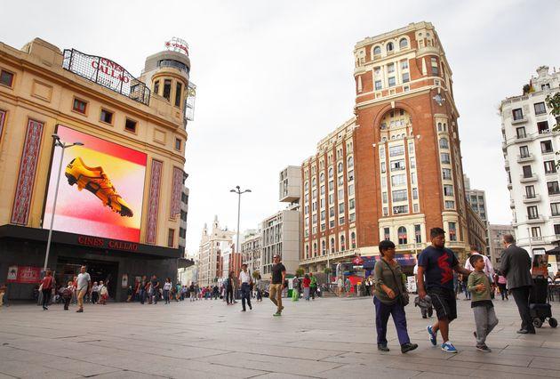 Plaza de Callao, en