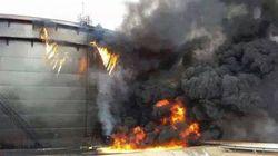Libye: trois réservoirs de pétrole en feu dans un terminal de