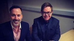 Elton John poste des photos de son mariage avec David Furnish sur