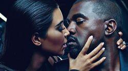 Kim Kardashian et Kanye West égéries d'une maison de couture