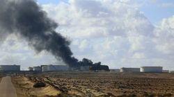 Incendies du port pétrolier Al-Sadra: La Libye sollicite vainement l'aide des États-Unis et