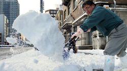Tempêtes de neige au Japon: au moins 11