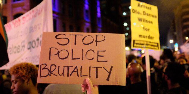 Ferguson support rally Chinatown - Washington,