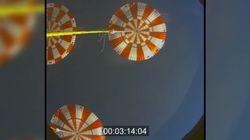 Le retour sur Terre de la capsule Orion comme si vous étiez à