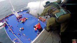 Ferry en feu dans l'Adriatique : course contre la montre pour sauver les