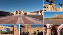 Visite au cœur des studios de Ouarzazate