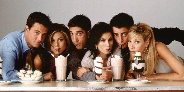 La série Friends dévoile le premier script de son
