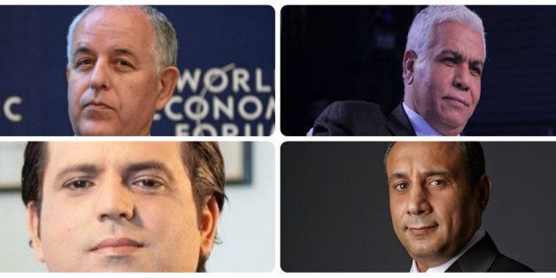 Yassine Chennoufi, Safi Said, Mustapha Kamel Nabli et Slim