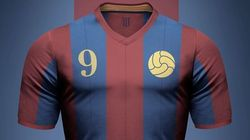 Les maillots de grands clubs de foot imaginés en version rétro