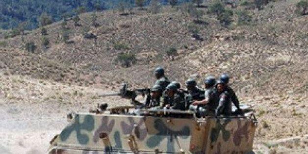 L'armée tunisienne au Mont