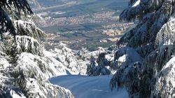Premières chutes de neige sur l'Atlas blidéen et les hauts