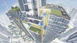 Cet ascenseur va vous donner envie de vivre dans le futur