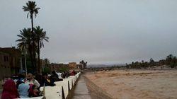 Le Sud de l'Algérie à les pieds dans l'eau (PHOTOS,