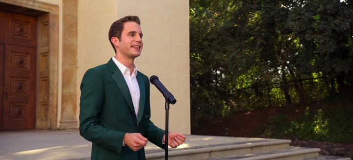 "Ben Platt as Payton Hobart in ""The Politician."""
