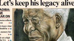 L'hommage de l'Afrique du Sud à Mandela un an après sa