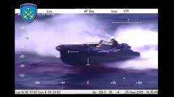 Βίντεο από «κινηματογραφική» καταδίωξη ταχύπλοου εμπόρων ναρκωτικών στο
