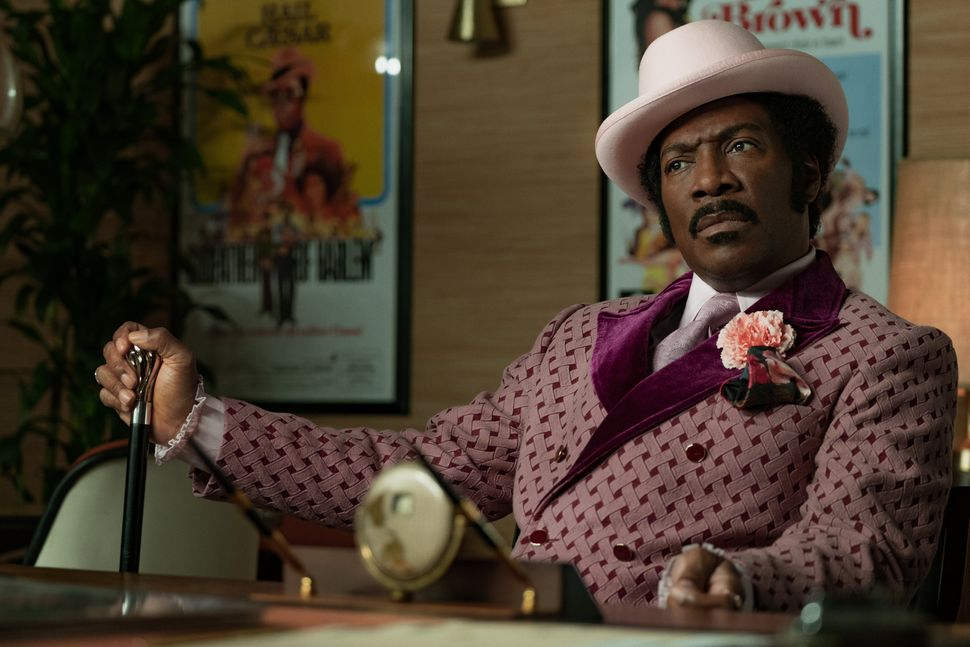 "Eddie Murphy in ""Dolemite Is My Name,"" opening Oct. 4."