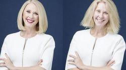 Une présentatrice TV sans maquillage pour faire passer un