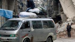400 kilomètres pour aller d'Alep