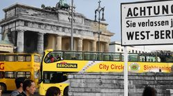 Mur de Berlin : Ces photos qui fusionnent passé et présent 25 ans