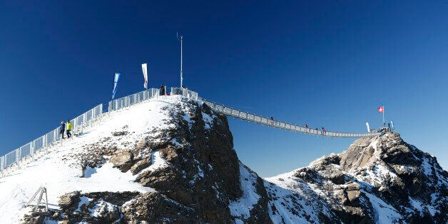 En Suisse, le premier pont au monde reliant deux
