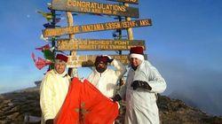 Ils gravissent le Kilimanjaro pour soutenir les enfants de