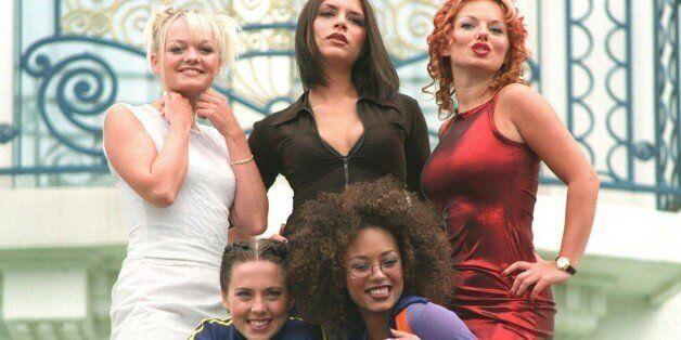 Les spice girls et leur chanson Wannabe, en tête du classement des morceaux les plus