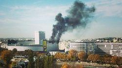 La Maison de la Radio à Paris prend feu