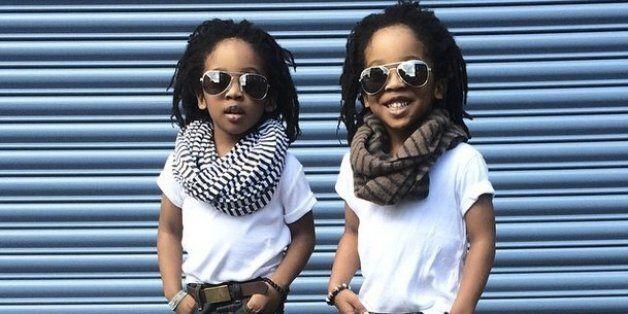 Des jumeaux très à la mode