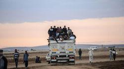 Syrie: les Jihadistes de l'EI près de la frontière turque, offensive kurde sur 3