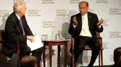 Ce que Marzouki a fait (et dit) lors de sa visite