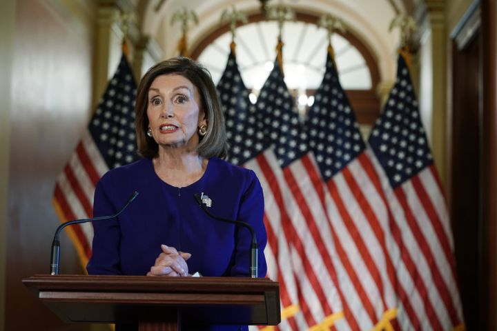 House Speaker Nancy Pelosi announced a formal impeachment inquiry Tuesday after allegations that President Donald Trump sough