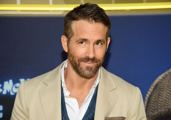 """Ryan Reynolds attends the premiere of """"Pokemon Detective Pikachu"""" at Military Island in Times Square on May 2, 2019 in New York."""