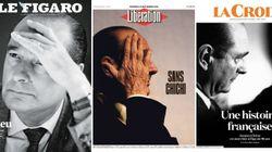 Après la mort de Chirac, la presse célèbre