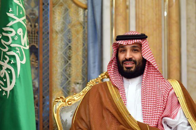 Saudi Arabia's Crown Prince Mohammed bin