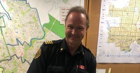St. Albert fire chief Bernd