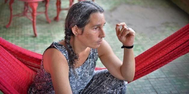 L'actrice cubaine Claudia Rojas, de retour dans son pays après avoir vécu et travaillé plus de 15 ans...