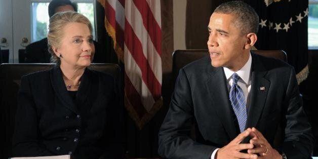 Les yeux rivés sur 2016, Hillary Clinton tente de se démarquer de Barack
