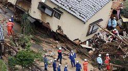 Japon: Au moins 32 morts et 9 disparus dans des glissements de