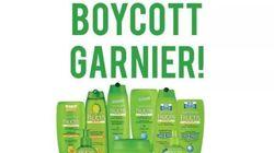 #BoycottGarnier marche, Garnier s'excuse pour l'utilisation de son image contre