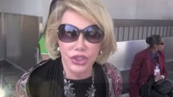 L'actrice Joan Rivers à propos des palestiniens: