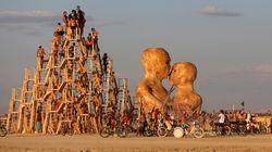 D'incroyables photos du festival Burning