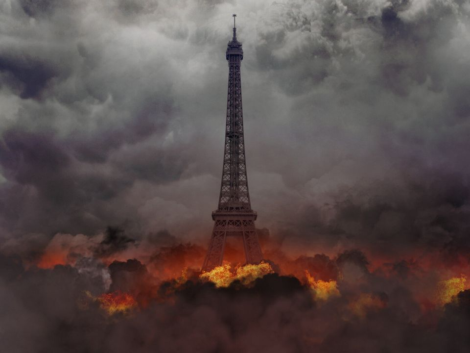 La fin du monde et la déchéance des capitales imaginées par Michal Zak dans sa série