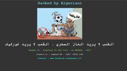 Le site de la Fédération Algérienne de Football