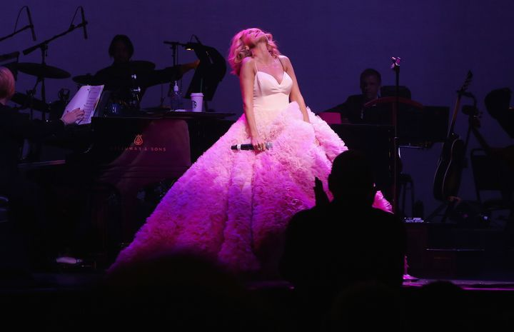 "In 2016, Chenoweth performed her acclaimed solo concert, ""My Love Letter to Broadway,"" at New York's L"