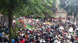 Interdiction de manifester pour la Palestine à